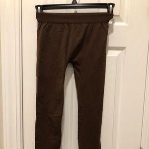 Brown Nikibiki Leggings